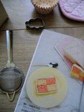 londres box damier cake