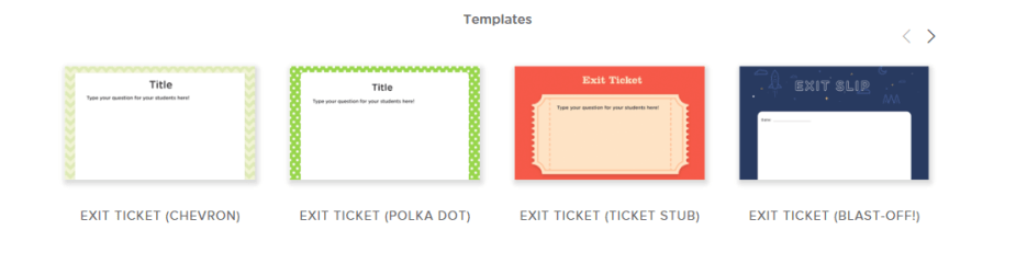 classkick exit slip template