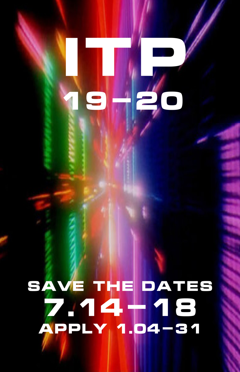 ITP Save the Dates 2