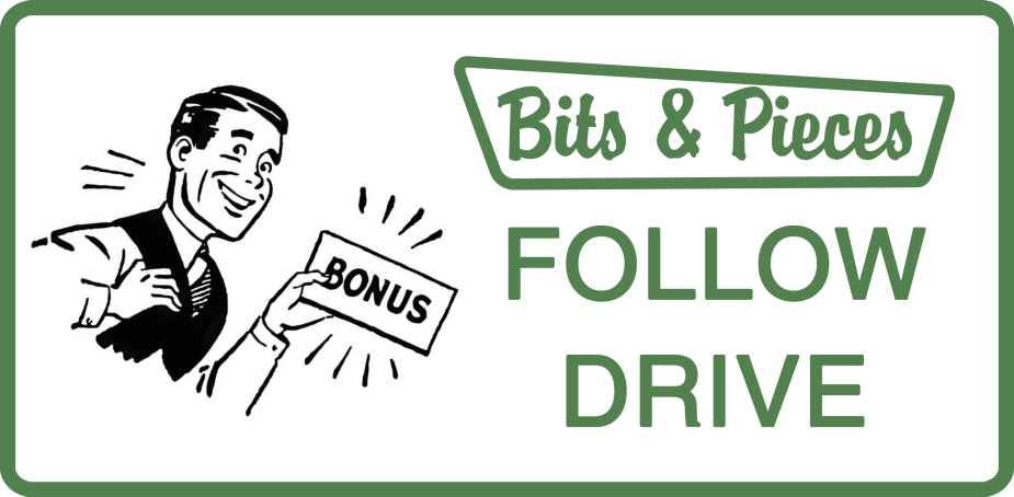 Tool Bits Green - Follow Drive Bonus