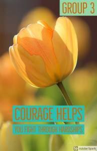 poster project about courage