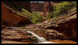 Nameless Waterfall No. 2, Coyote Gulch, Grand Staircase Escalante National Monument
