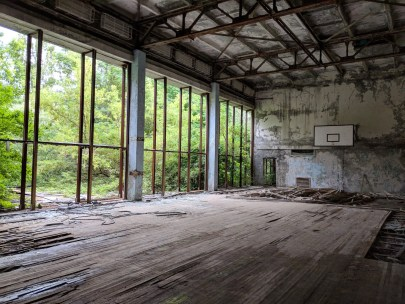 Pripyat Indoor Basketball Court