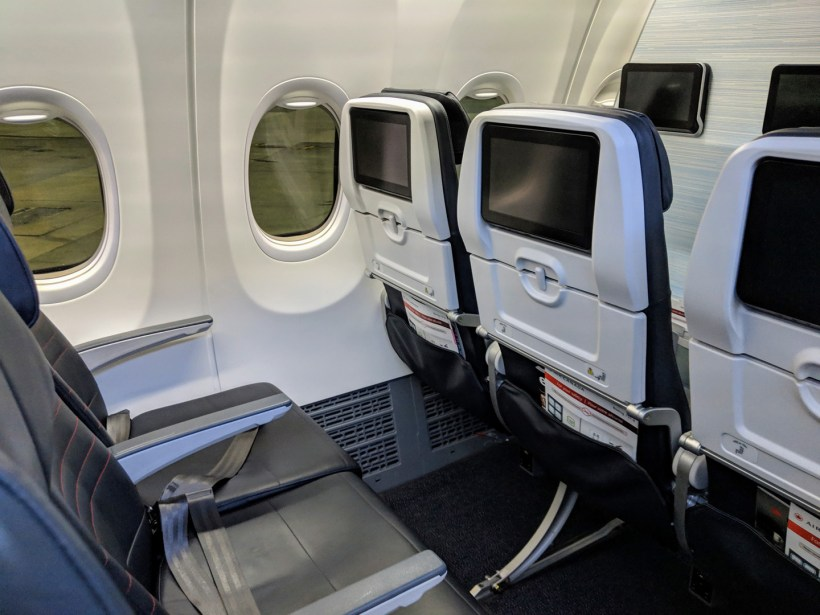 Air Canada Boeing 737 MAX 8 Economy Class Seat