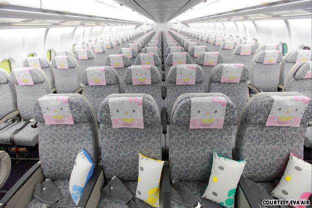 Hello Kitty - EVA Airways (Photos!) (5/6)