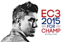 Ethan Carter III (Wrestler, Most Imrproved, Carter Mic Award, Feud, Match, 2015)