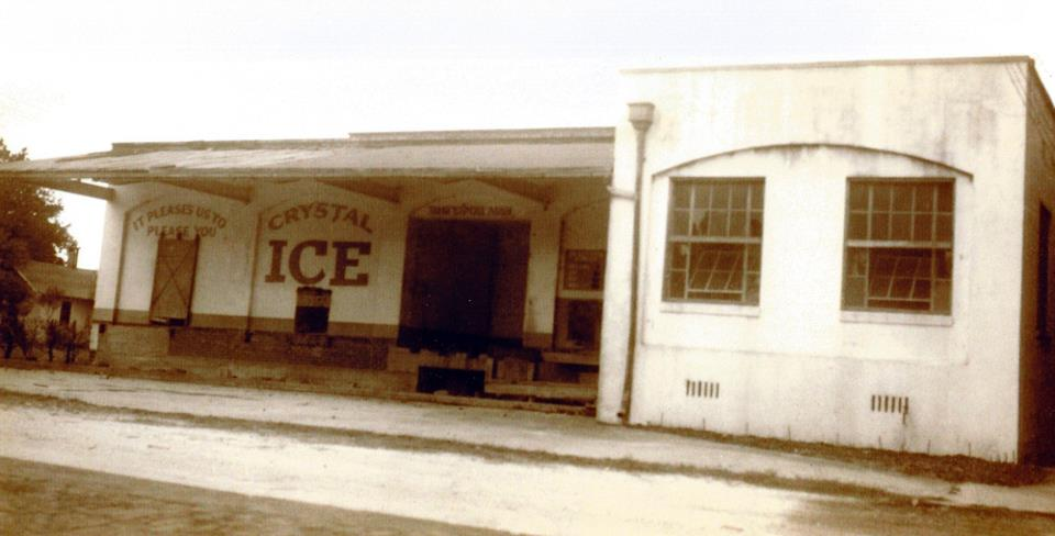 The loading dock of Crystal Ice is our present day Big Room, and the lounge is on the right.