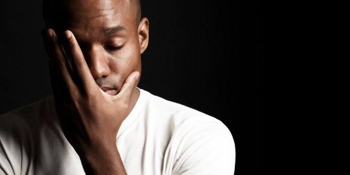 Image result for black people depressed