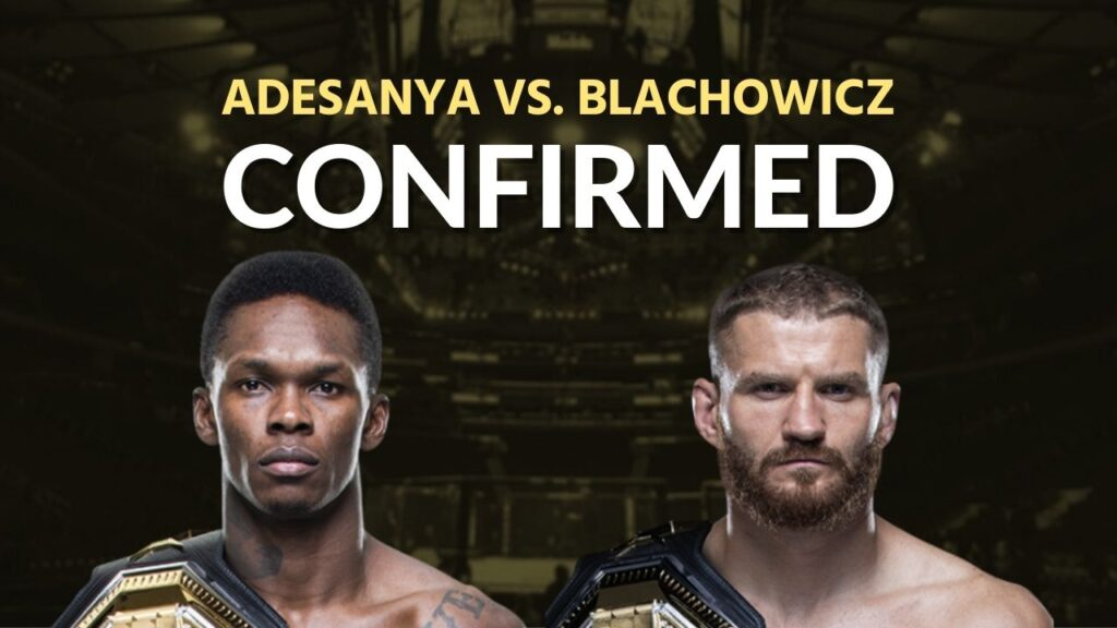 Israel Adesanya Next Fight Date 2020 - Israel Adesanya Vs Jan Blachowicz Confirmed By Dana White