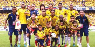 Colombian World Cup Football Team