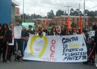 Colombian Teacher's Strike