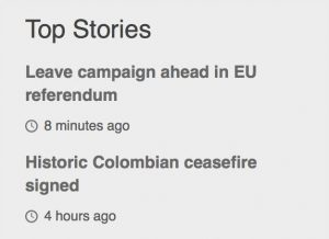Colombia, Brexit