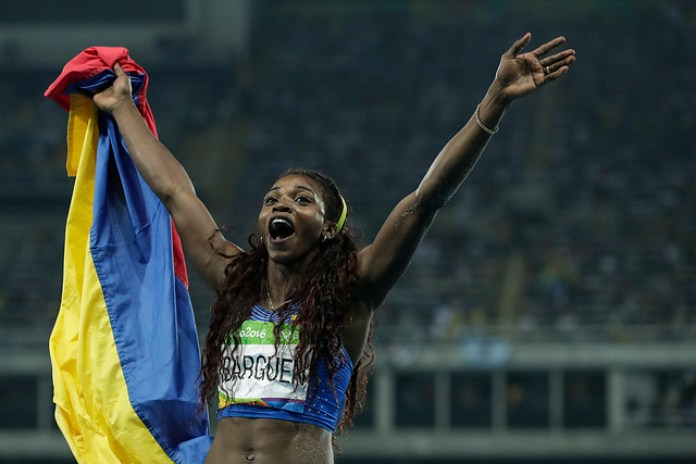 Caterine Ibargüen, Colombian sporting year in review