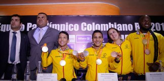 Colombia paralympic winners
