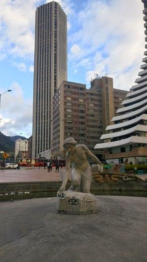 Bogotá buildings, La Rebeca, Torre Colpatria, Bogotá architecture