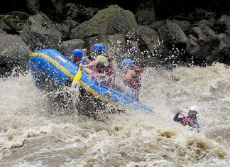 Rafting San Gil, Adventure sports Colombia
