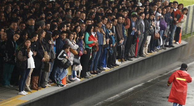 Bogotá transport woes