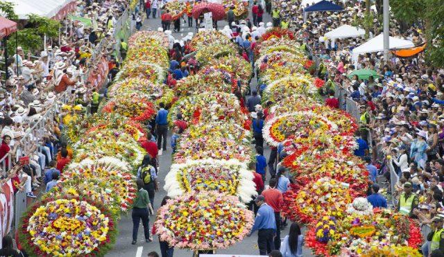 Colombian festivals, Feria de las Flores, Medellin