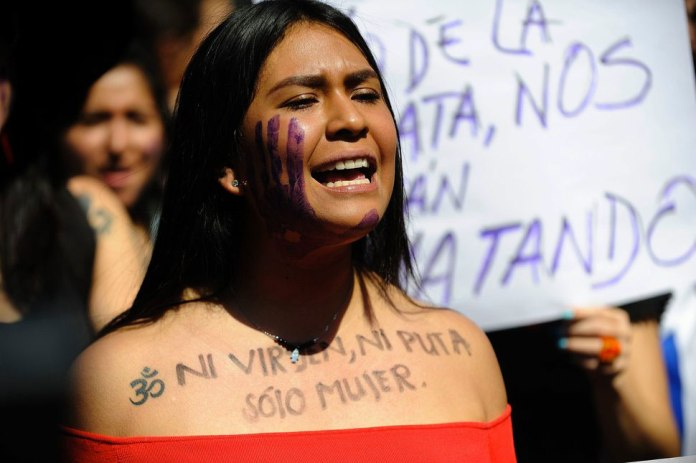 femicide Colombia, violence against women