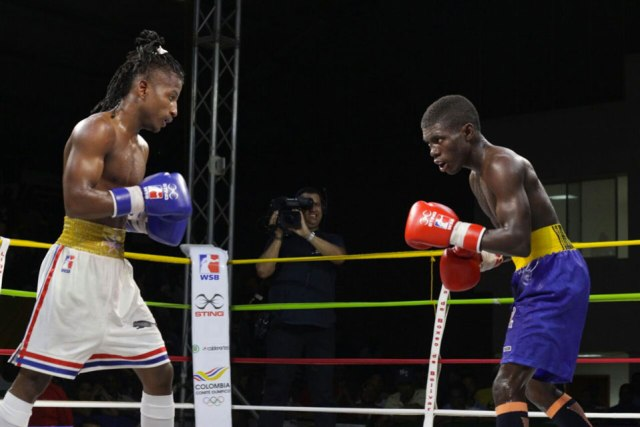 Heroicos, Yuberjen Martínez, Colombia boxing