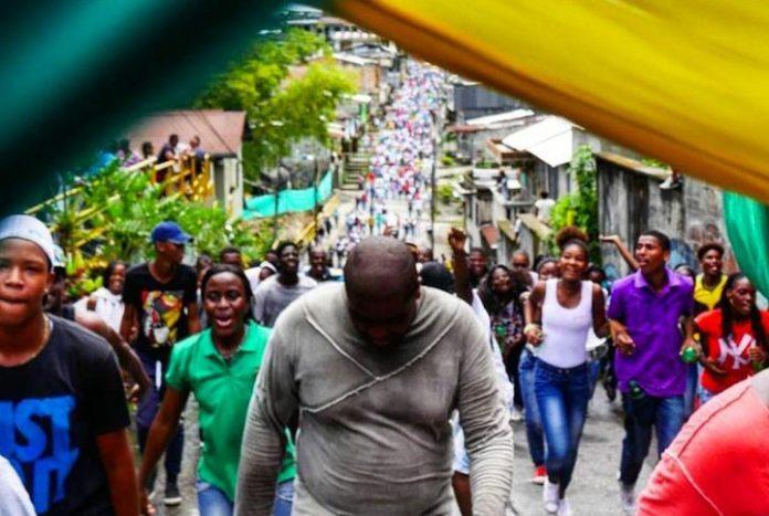 Buenaventura protests