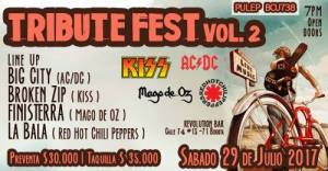 Tribute Fest Vol.2 @ Revolution Bar | Bogotá | Bogotá | Colombia