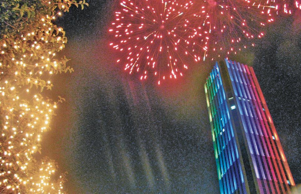 New Year in Bogotá