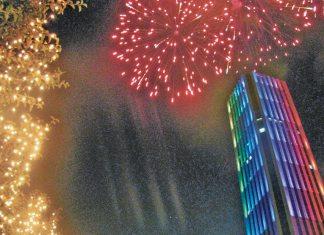 New Year in Bogota