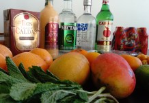 Colombian cocktails