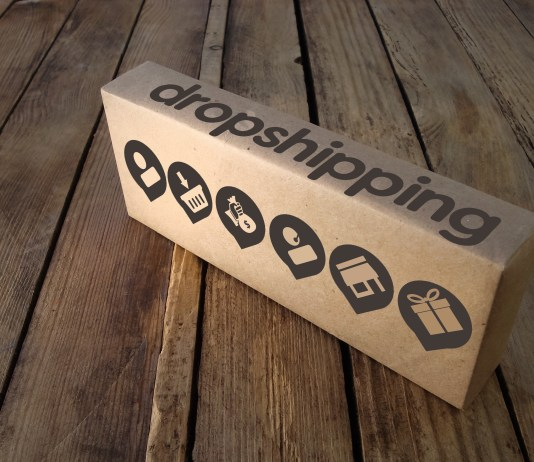 Drop shipping online business