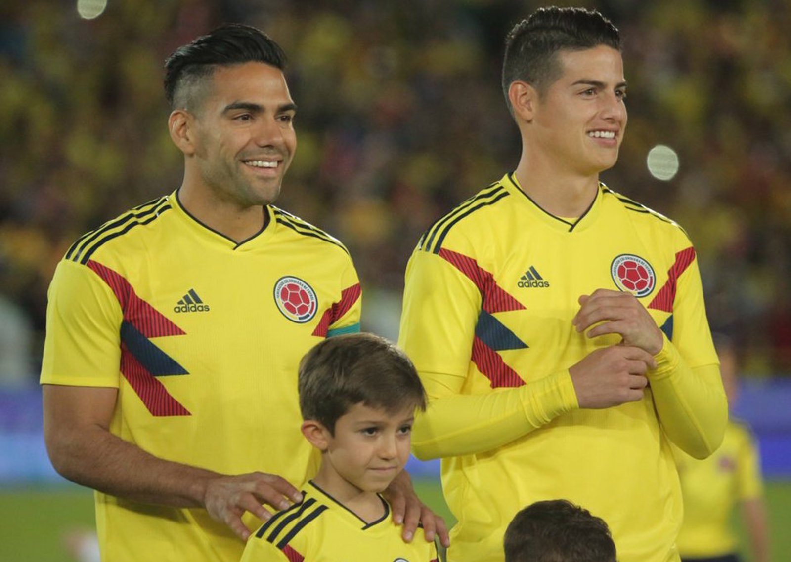dc3bd404426 Colombia's World Cup kits