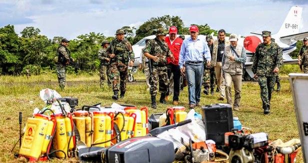 Peru Colombia border