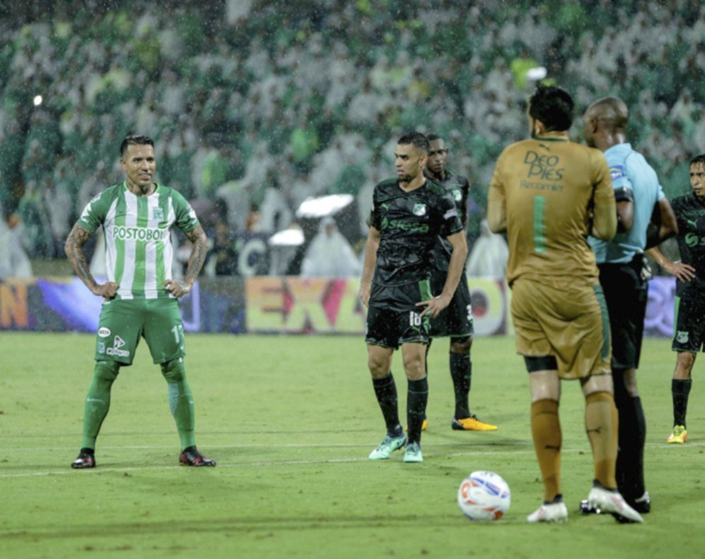 Dayro Moreno dismissed by Atlético Nacional after fight with teammate