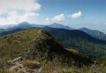 Bogotá hiking