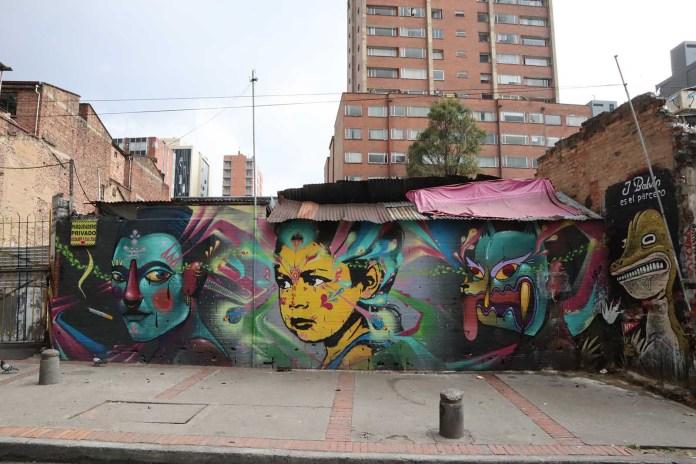 Graffiti culture in Bogotá