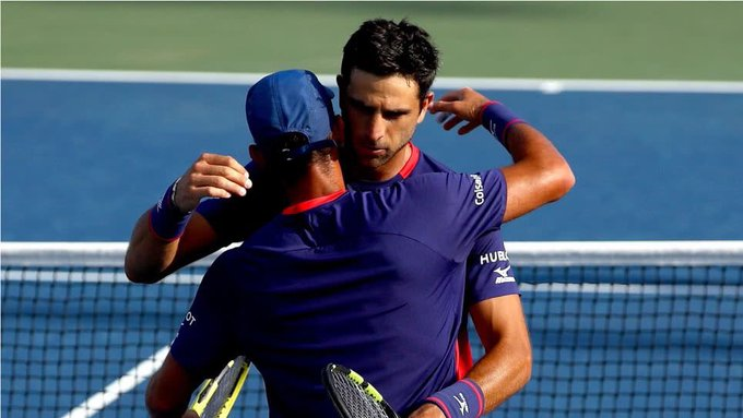 Juan Sebastián Cabal and Robert Farah qualify for their first US Open final together.  Photo: Comité Olímpico Colombia
