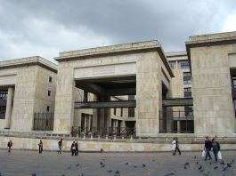 Palace of justice, Bogota