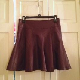 Sparkle & Fade pleather skirt from TJMaxx
