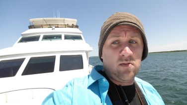 I so wanted to dubsmash I'm on a boat here. But then I remembered everyone could see me and thought it just wasn't the right time.