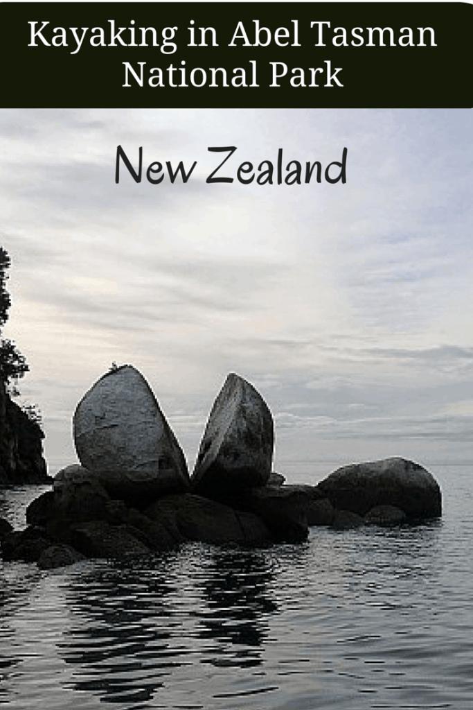 Kayaking in the Abel Tasman National Park, New Zealand