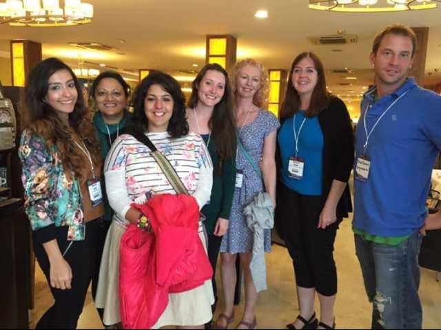Meeting fellow TRLT bloggers TBEX Europe 2015