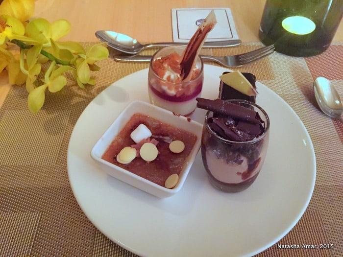 Dessert- my favorite part- park rotana abu dhabi