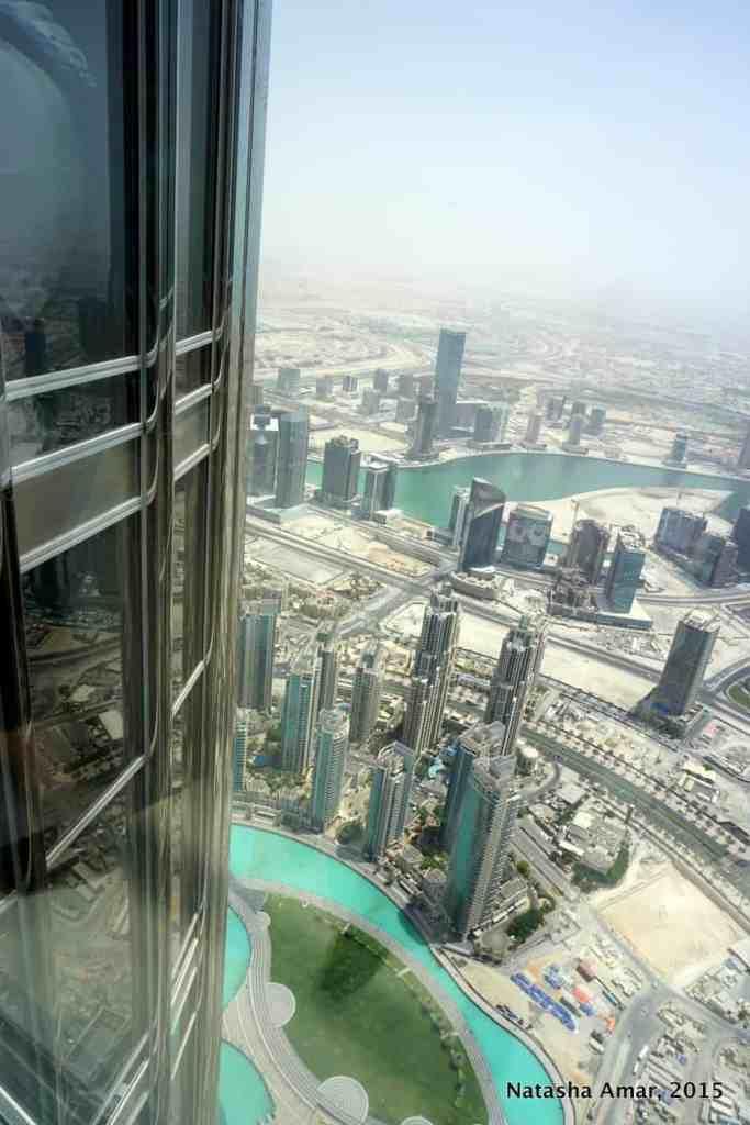 at the top burj khalifa
