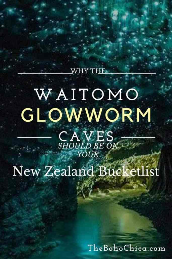 Waitomo Glowworm Caves in New Zealand is a breathtaking natural sight that should be on your New Zealand bucket list. Here's how to visit on a walking tour and a black water rafting tour.