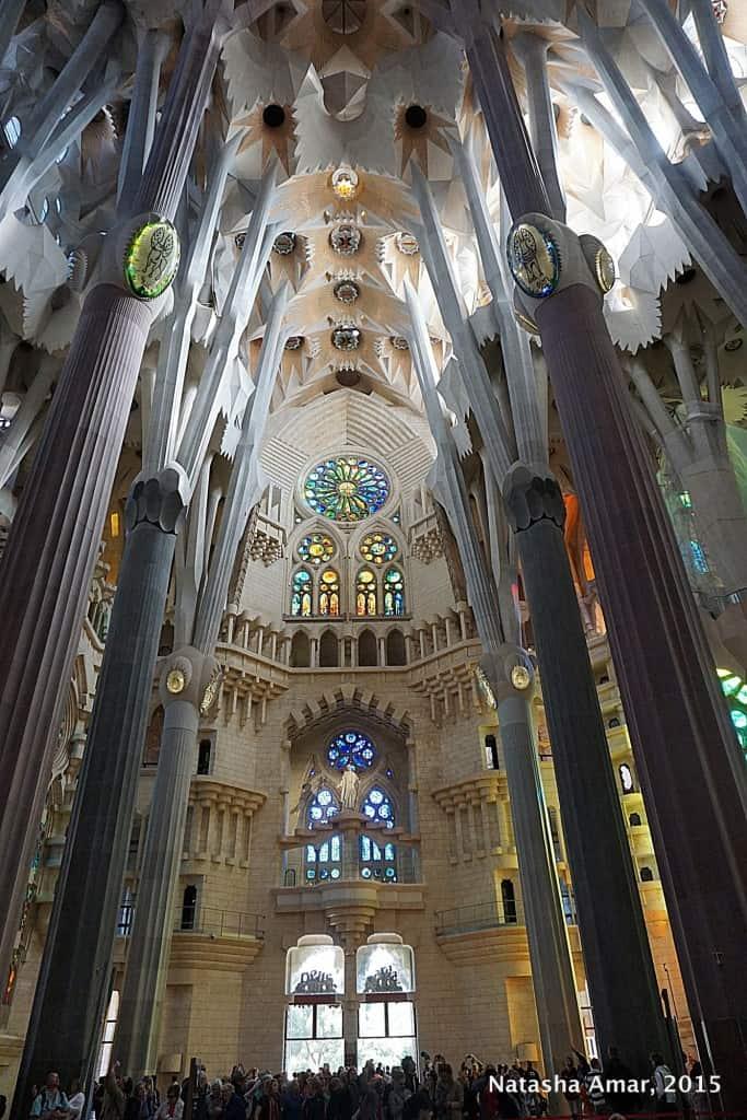 La Sagrada Familia: Gaudi's Unparalleled Genius in Barcelona