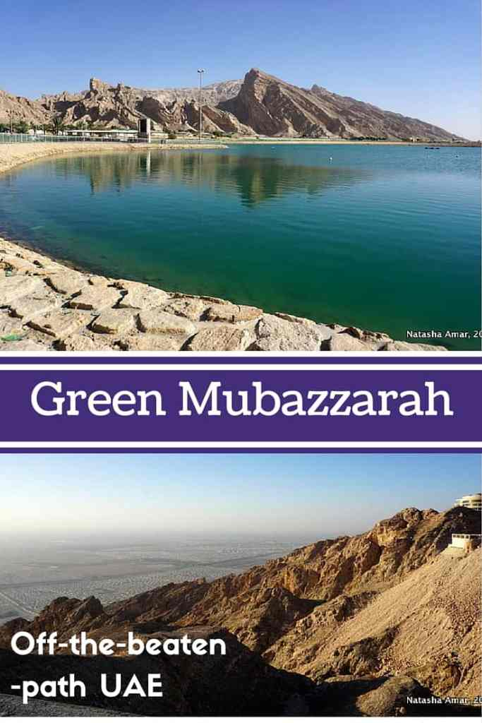 Get off the tourist trail in the UAE and explore Green Mubazzarah, an easy day trip from Dubai and Abu Dhabi.