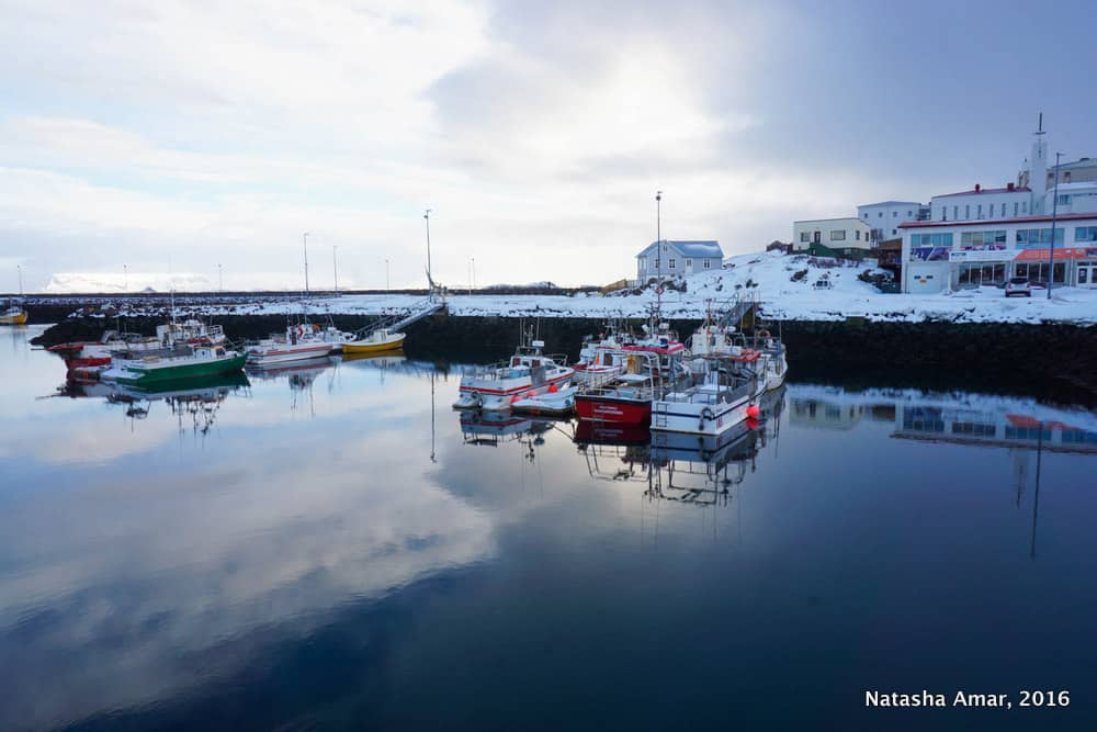 Stykkisholmur Harbour-Snaefellsnes Peninsula