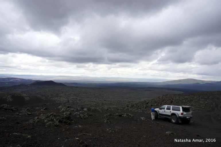 Iceland's Highlands Landmannalaugar Day Tour- Hekla Lava Fields