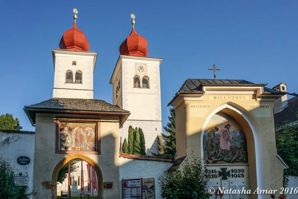 Millstatt Abbey-Transromanica Cultural Route of the Council of Europe