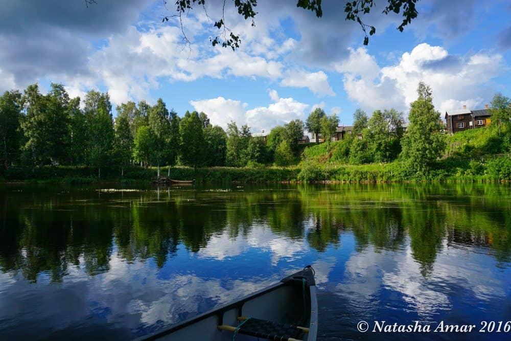 Skellefteå River in Swedish Lapland